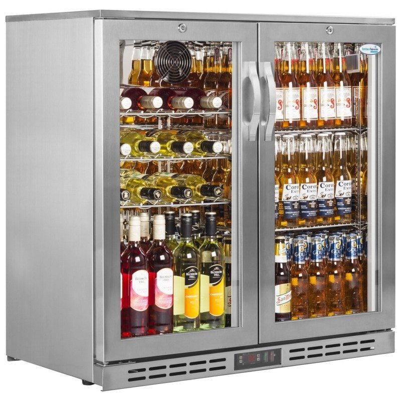 Interlevin Stainless Steel PD20H Back Bar Chiller