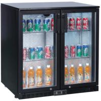 2 Door Back Bar Chiller Bottle Cooler