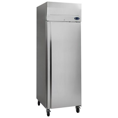 Tefcold RF505P Upright Freezer Stainless Steel 466L