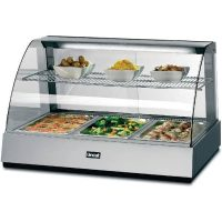 Hot Display Pie Merchandisers and Cabinets