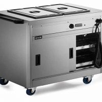 Lincat P6B2 Hot Cupboard with Bains Marie Top