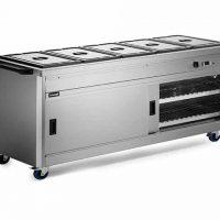 Lincat P6B5 Hot Cupboard with Bains Marie Top