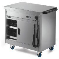 Lincat P6P2 Hot Cupboard with Plain Top