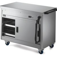 Lincat P6P3 Hot Cupboard with Plain Top