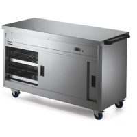 Lincat P6P4 Hot Cupboard with Plain Top