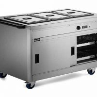 Lincat P8B3 Hot Cupboard with Bains Marie Top
