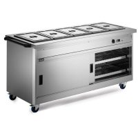 Lincat P8B5 Hot Cupboard with Bains Marie Top