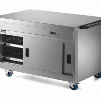 Lincat P8P3 Hot Cupboard with Plain Top