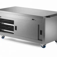 Lincat P8P4 Hot Cupboard with Plain Top