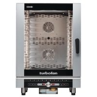 Blue Seal Turbofan EC40D10 Digital 10 Grid Electric Combination Steamer Oven