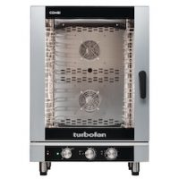 Blue Seal Turbofan EC40M10 Manual 10 Grid Electric Combination Steamer Oven
