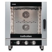 Blue Seal Turbofan EC40M7 Manual 7 Grid Electric Combination Steamer Oven