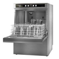 Hobart Ecomax Plus G503S Glasswasher with Drain Pump and Water Softener 500mm Basket