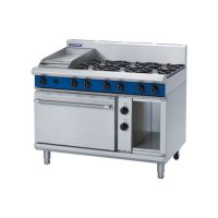 Blue Seal Evolution GE508C 1200mm Gas Range with Electric Static Oven