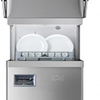 DC PD1000 IS D Premium Pass-through Dishwasher with Integral Softener & Drain Pump - 500mm 18 plate