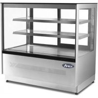 ATOSA WDF157F Two Shelf Squared Glass Deli Counter 497L