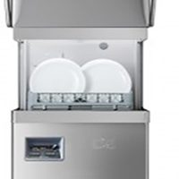 DC PD1000A IS D Premium Passthrough Dishwasher with Break Tank, Integral Softener & Drain Pump - 500mm 18 plate