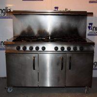 Moorwood Vulcan 8 Burner Oven Range