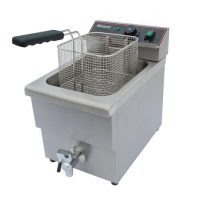 BLIZZARD BF8 Single Tank Electric Fryer with Tap 8L