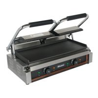 BLIZZARD Double Contact Grill (Top Ribbed, Bottom Smooth) BRSCG2