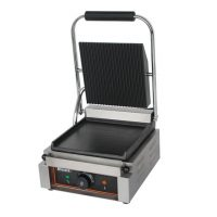 BLIZZARD Single Contact Grill (Top Ribbed, Bottom Smooth) BRSCG1