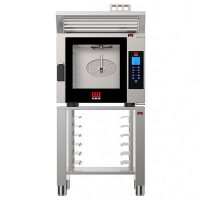 EKA MKF 611 CTC Electric 6 Grid Compact Combi Oven with Touch Screen