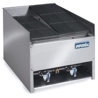 IMPERIAL EBA-2223 Gas Char-Rock Two Burner Chargrill
