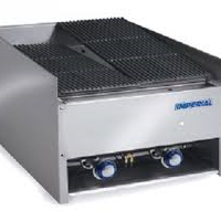 IMPERIAL Gas Char-Rock Two Burner Chargrill EBA-2223