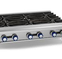 IMPERIAL 6 Burner Gas Hot Plate IHPA-6-36