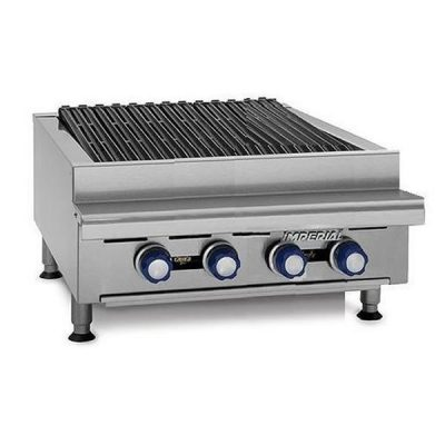 IMPERIAL IRB-24 Gas Radiant 4 Burner Chargrill