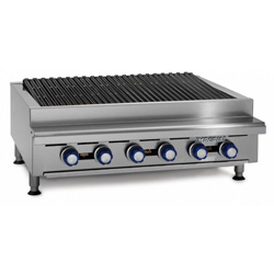 IMPERIAL IRB-36 Gas Radiant 6 Burner Chargrill
