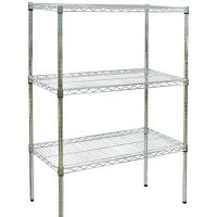 CRAVEN Firmashelf 4000 3 Tier Chrome Shelving Rack 1500mm x 600mm