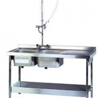 CRAVEN Single & Double Bowl with Left & Right Hand Drainer Catering Sinks