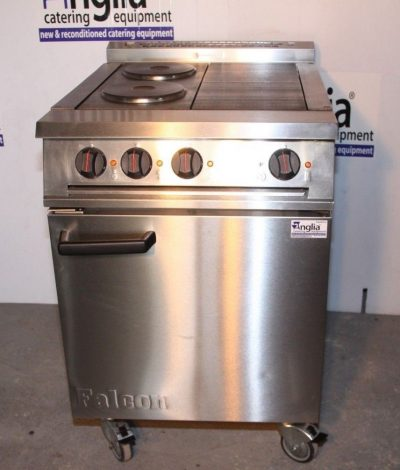 Falcon 3 Phase Electric Oven Hot Plate Range E3161