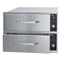 HATCO Built-In Two Narrow Drawer Warmer HDW-2BN