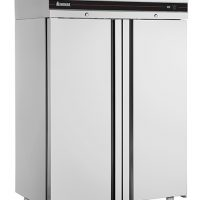 INOMAK CES2144 Heavy Duty Double Door 2/1 Refrigerator 1432L