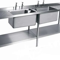 MOFFAT Double Bowl Sink with Double Drainer SSU24