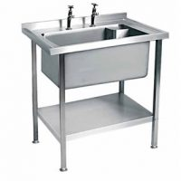 MOFFAT Single Bowl No Drainer Sink SSU7