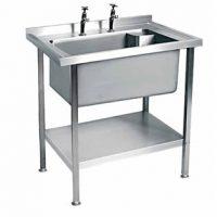 MOFFAT SSU7 Range Single Bowl No Drainer Sink