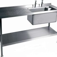 MOFFAT SSU15 Range Single Bowl Sink with Single Drainer