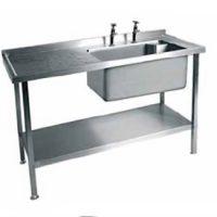 MOFFAT SSU12 Range Single Bowl with Drainer Sink