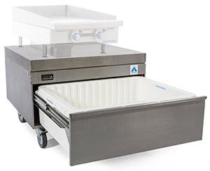 ADANDE Chef Base Unit, Rear Engine & Heat Shield Top VCR1CHS