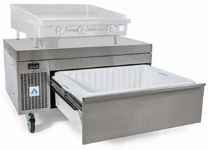 ADANDE Chef Base Unit, Side Engine & Heat Shield Top VCS1CHS