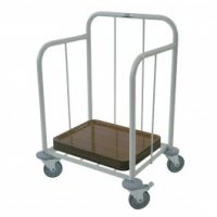 CRAVEN Cutlery and Tray Dispense Trolley TDT100
