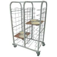CRAVEN Double Column 12 Level Tray Clearing Trolley TCT2 12