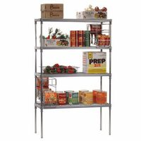 CRAVEN Firmashelf 5000 3 Tier Nylon Shelving Rack 1500mm x 1100mm