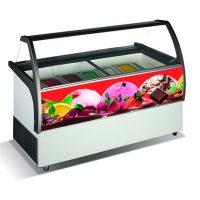 CRYSTAL Venus Elegante 56 Ice Cream Display 557L