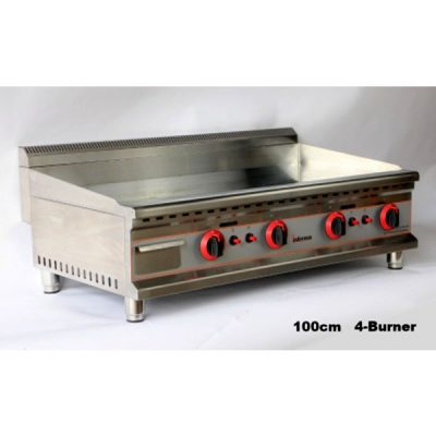 INFERNUS 1000mm 4 Burner LPG Gas Griddle