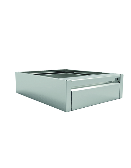 INOMAK 140mm (h) x 515mmm (w) x 595mm (d) Single Drawer Unit ST100