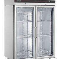 INOMAK CFP2144CR Heavy Duty Double Glass Door Freezer 1432L